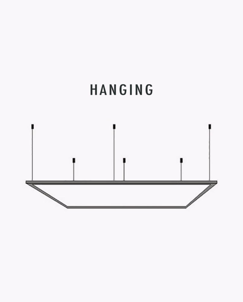 C50p24 d 2 x 4 led edge lit flat panel cyber tech lighting cyber techs led square flat panel light fixture integrates the latest in led technology with a low profile design not previously available with arubaitofo Images