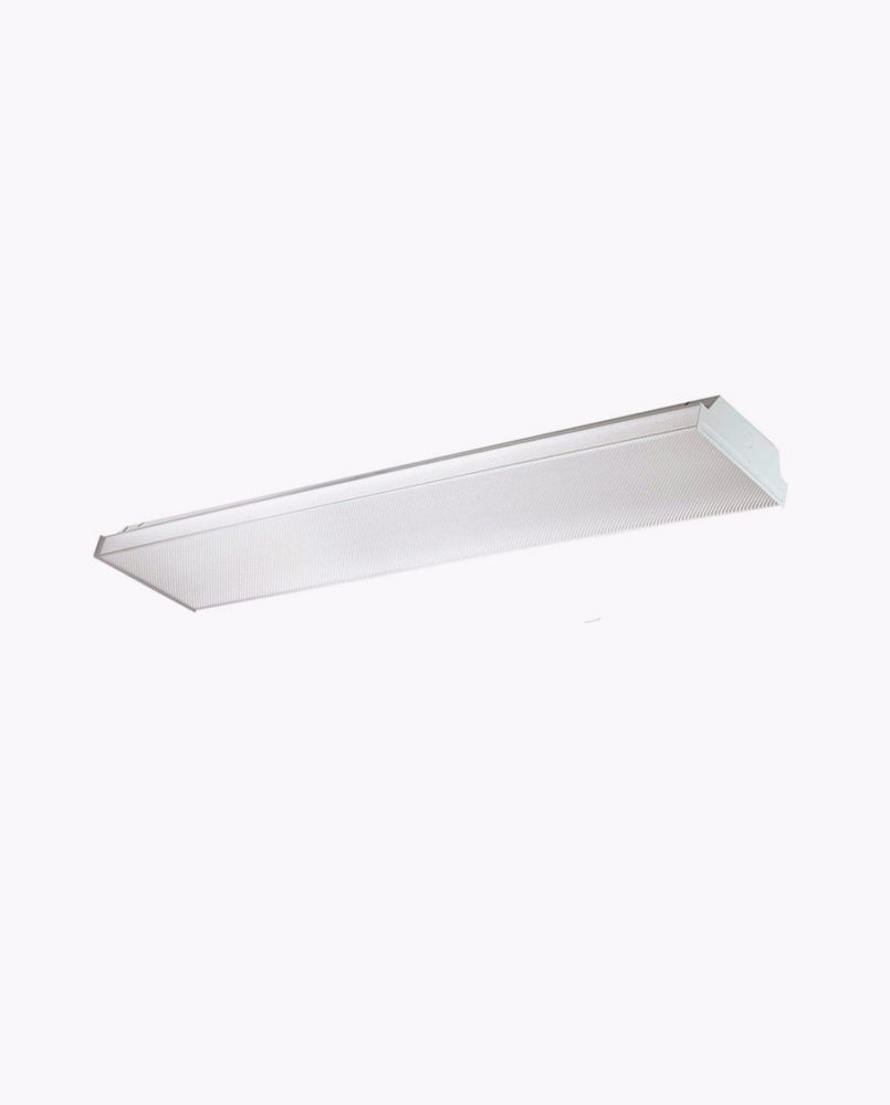 This classic 9 inch linear commercial wrap fixtures is a perfect solution for all application use in stairwells restrooms offices work areas hallways