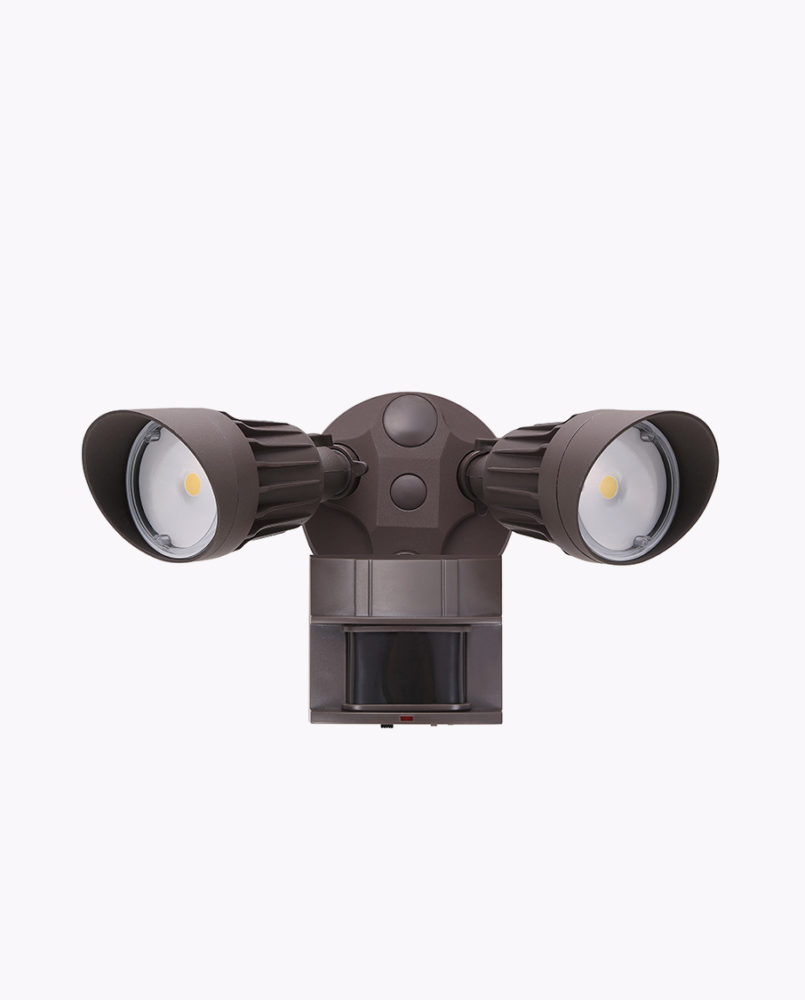 Lf20mh2 Dual Head Motion Security Light Chip Color 3000k