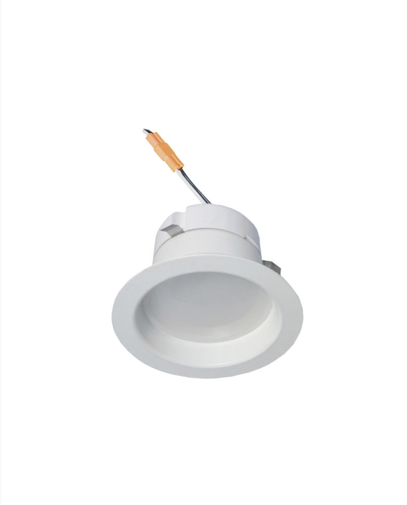 "Cyber Tech  4/"" Square Pivoting LED  Downlight Recessed Lighting"